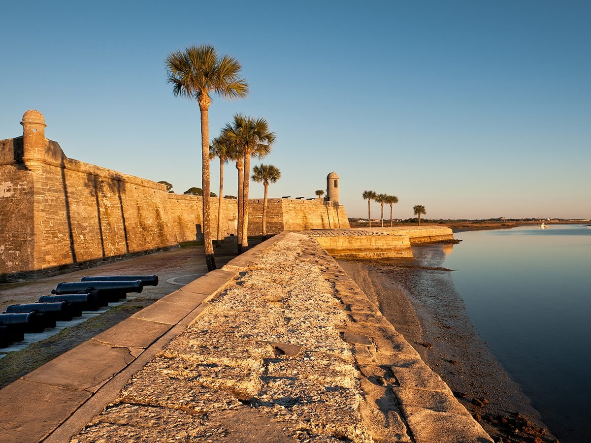 History questions - St. Augustine, Florida