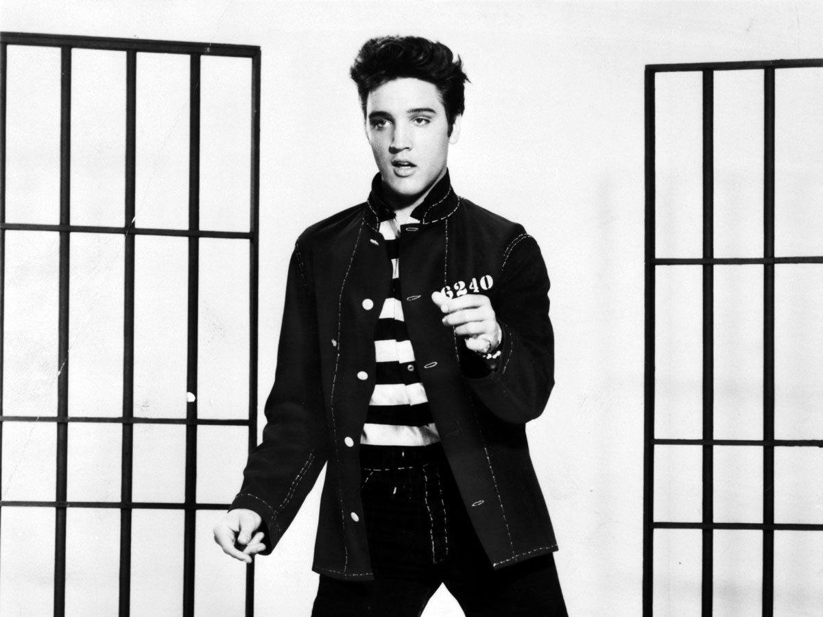 Most popular song: Elvis Presley