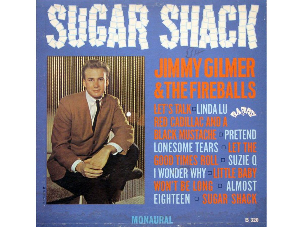 Most popular song: Jimmy Gilmer and the Fireballs