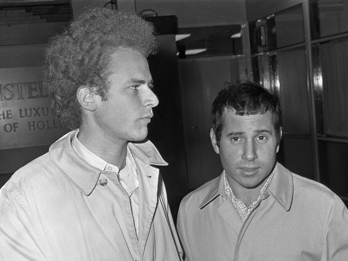 Most popular song: Simon & Garfunkel