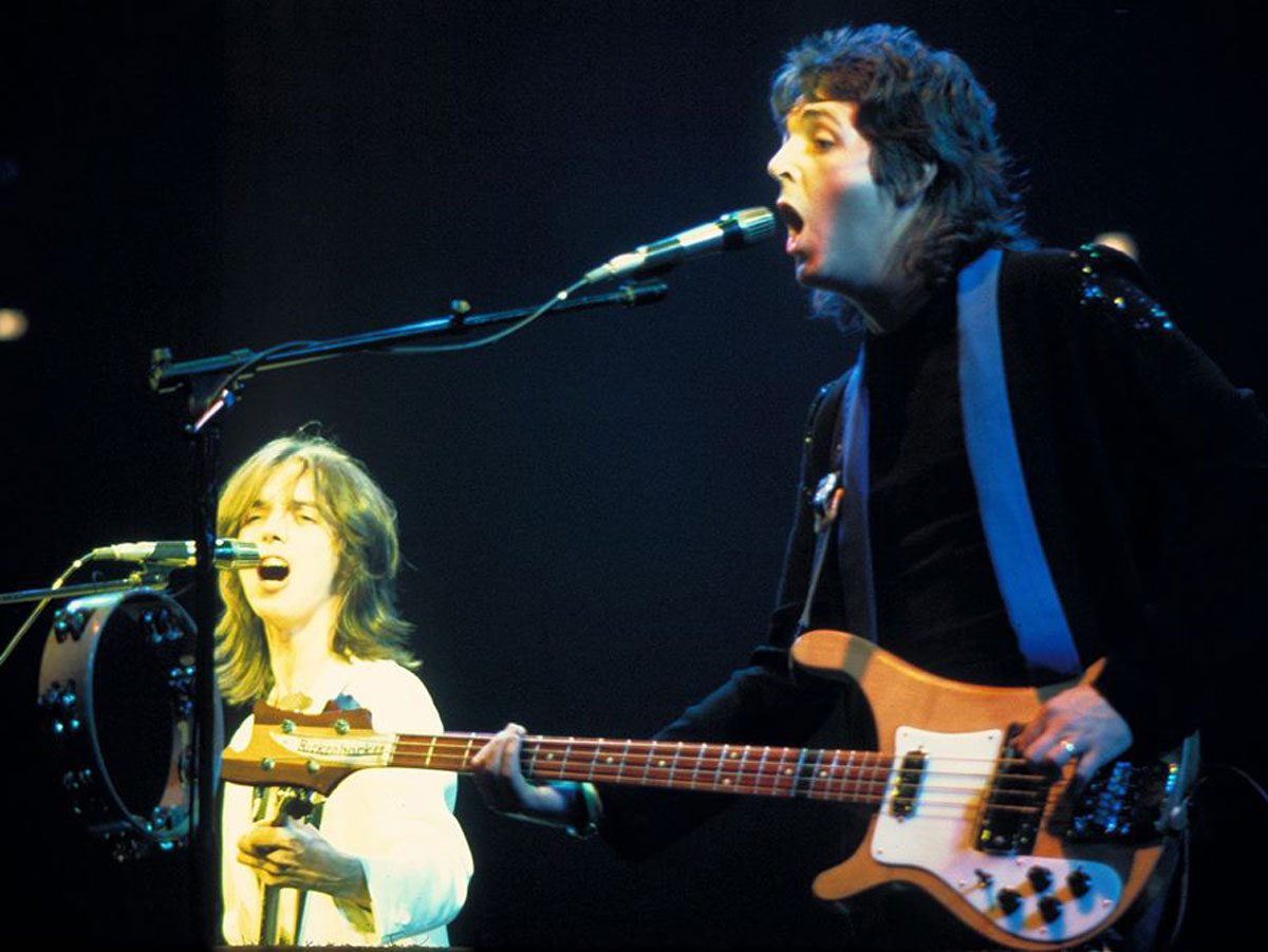 Most popular song: Paul McCartney and Wings