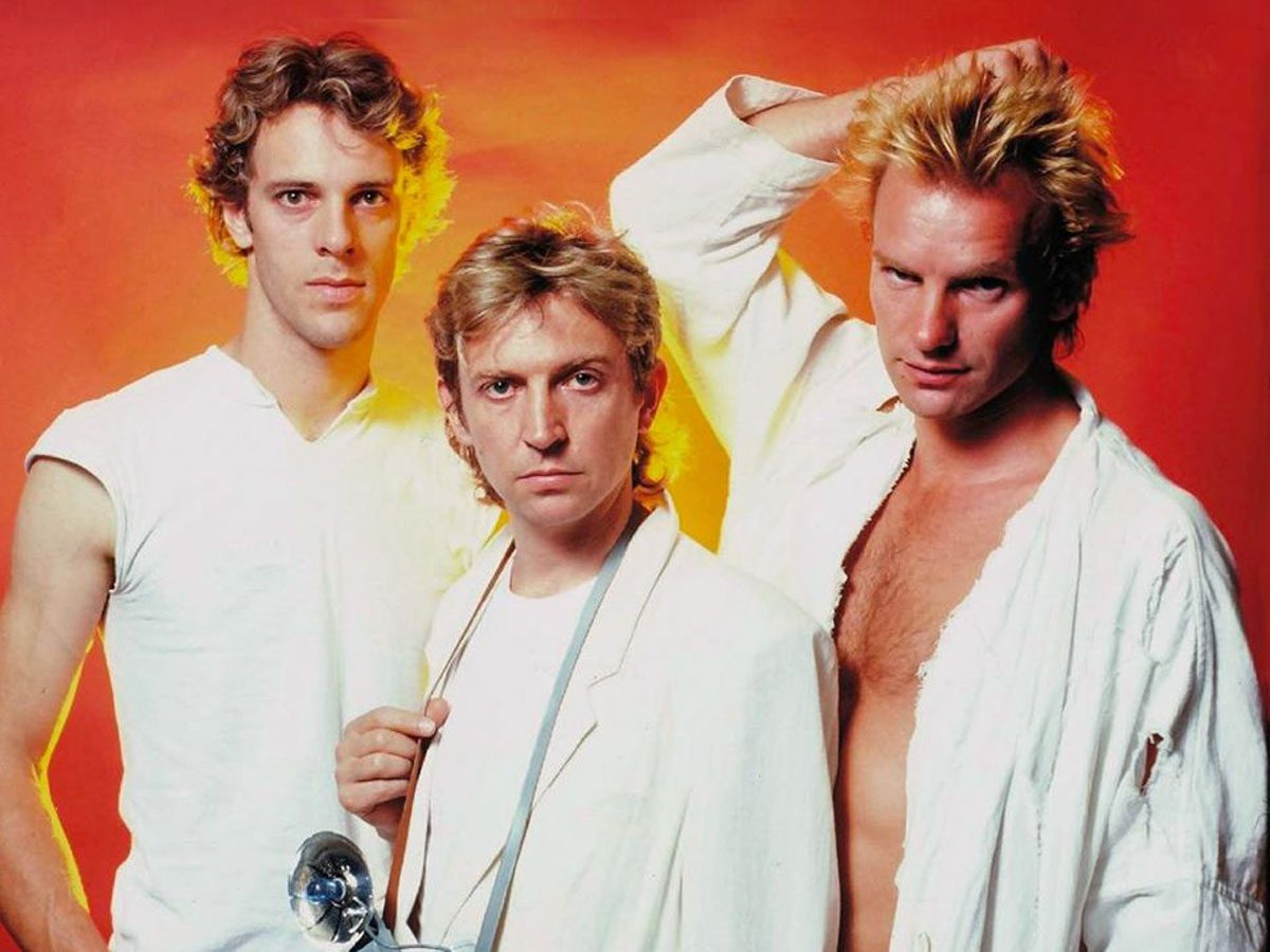 Most popular song: The Police