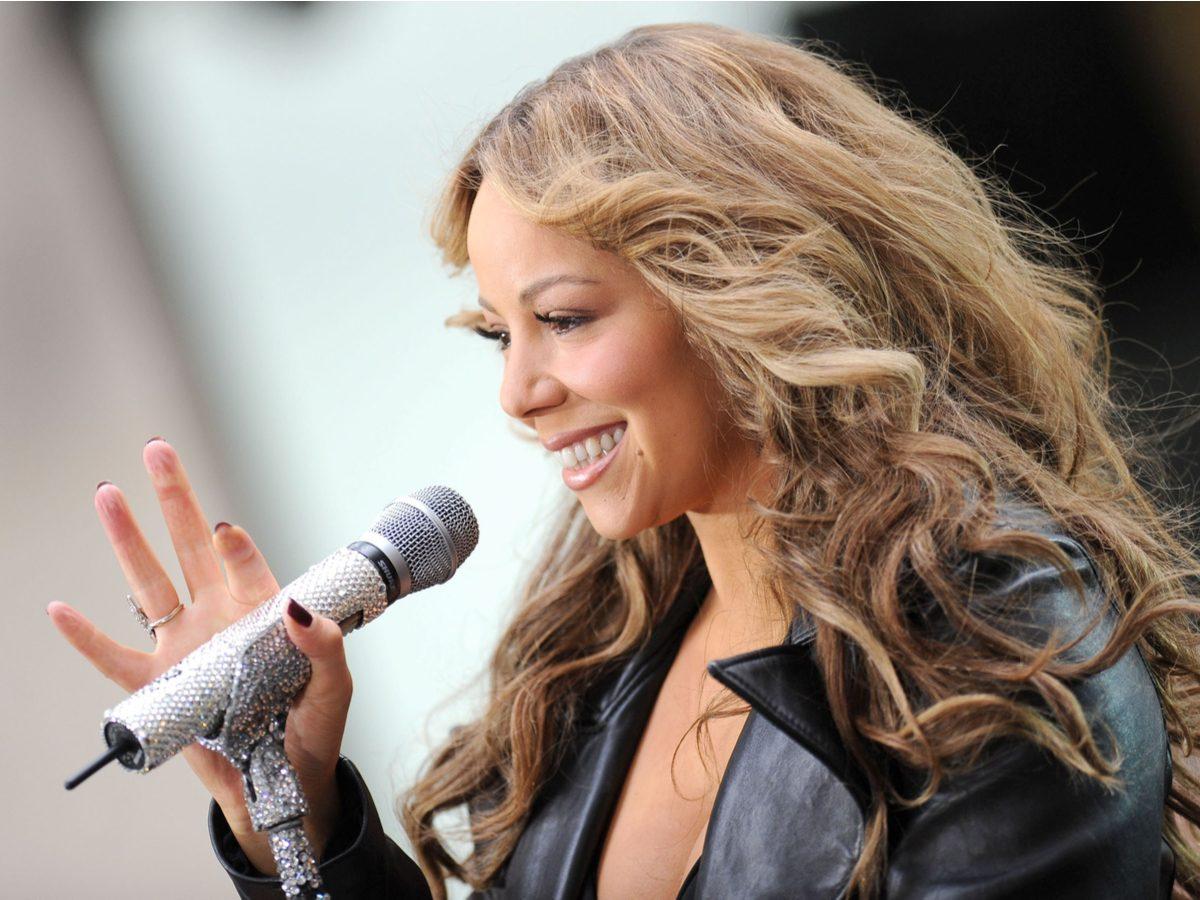 Most popular song: Mariah Carey