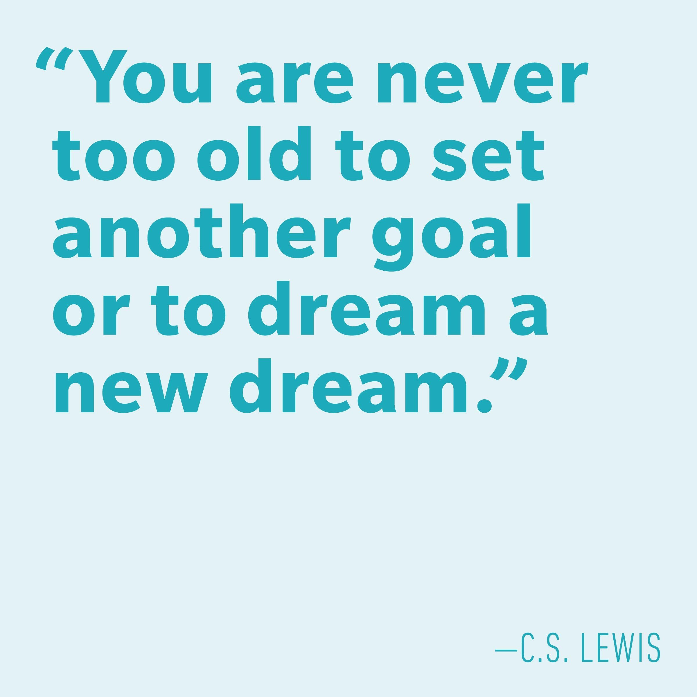 Motivational quotes - C.S. Lewis