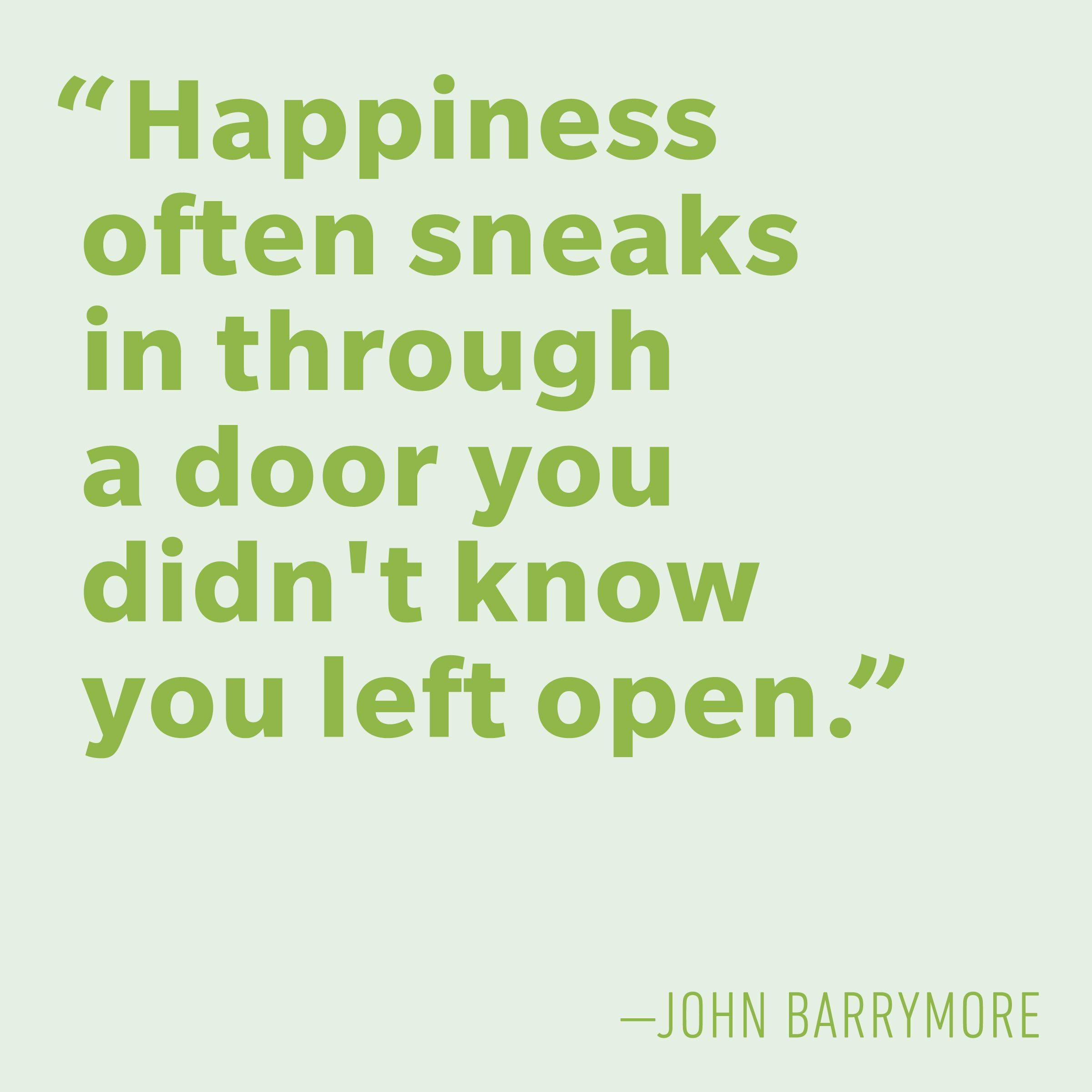 Motivational quotes - John Barrymore