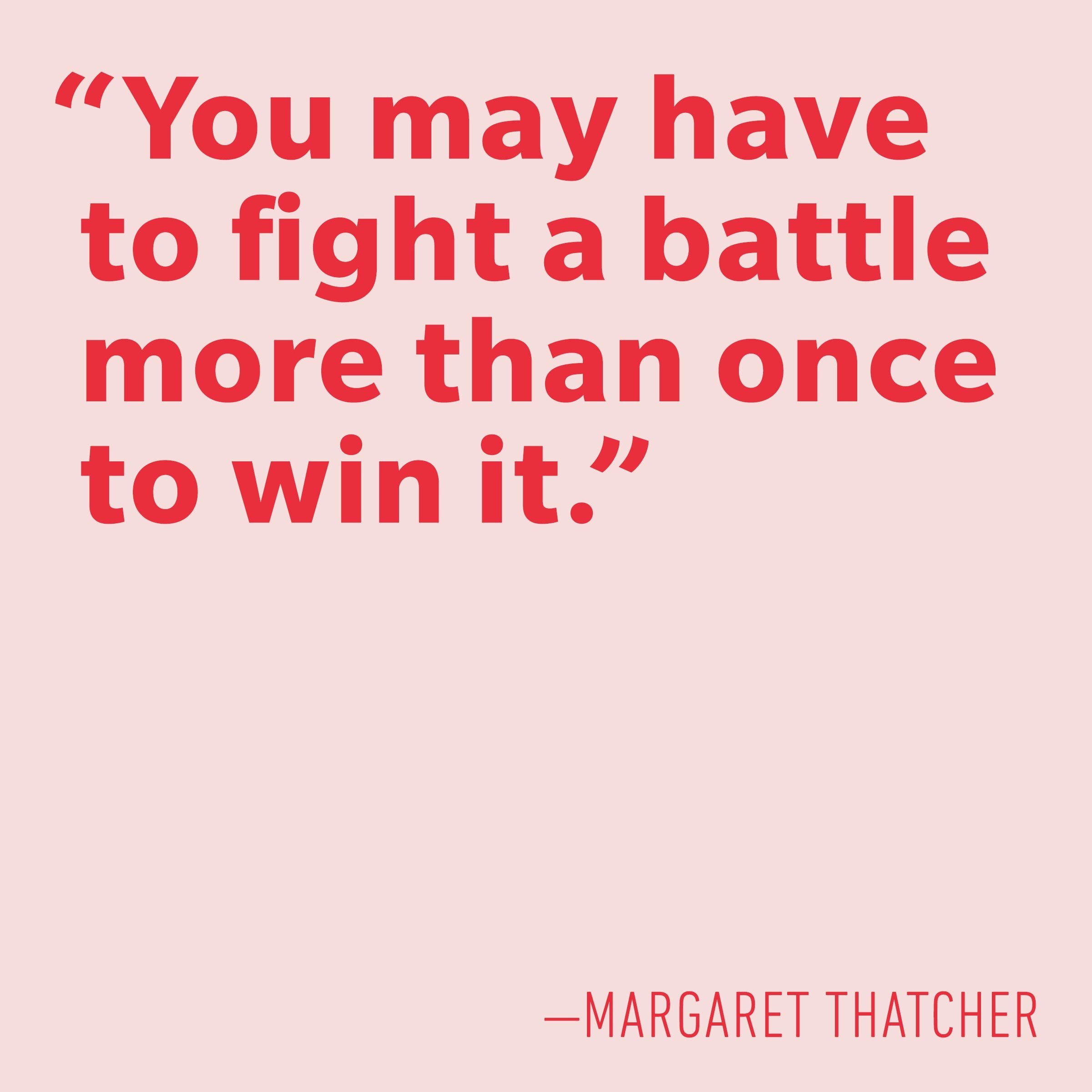 Motivational quotes - Margaret Thatcher