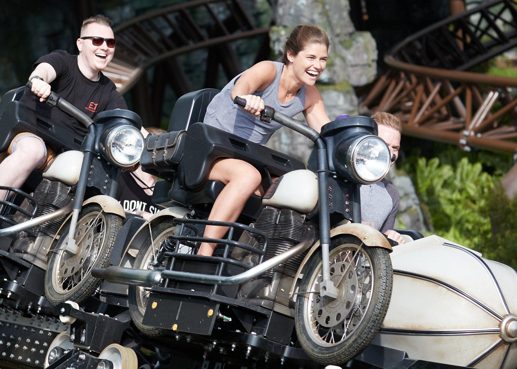 Hagrids magical creatures motorbike adventure ride at universal orlando