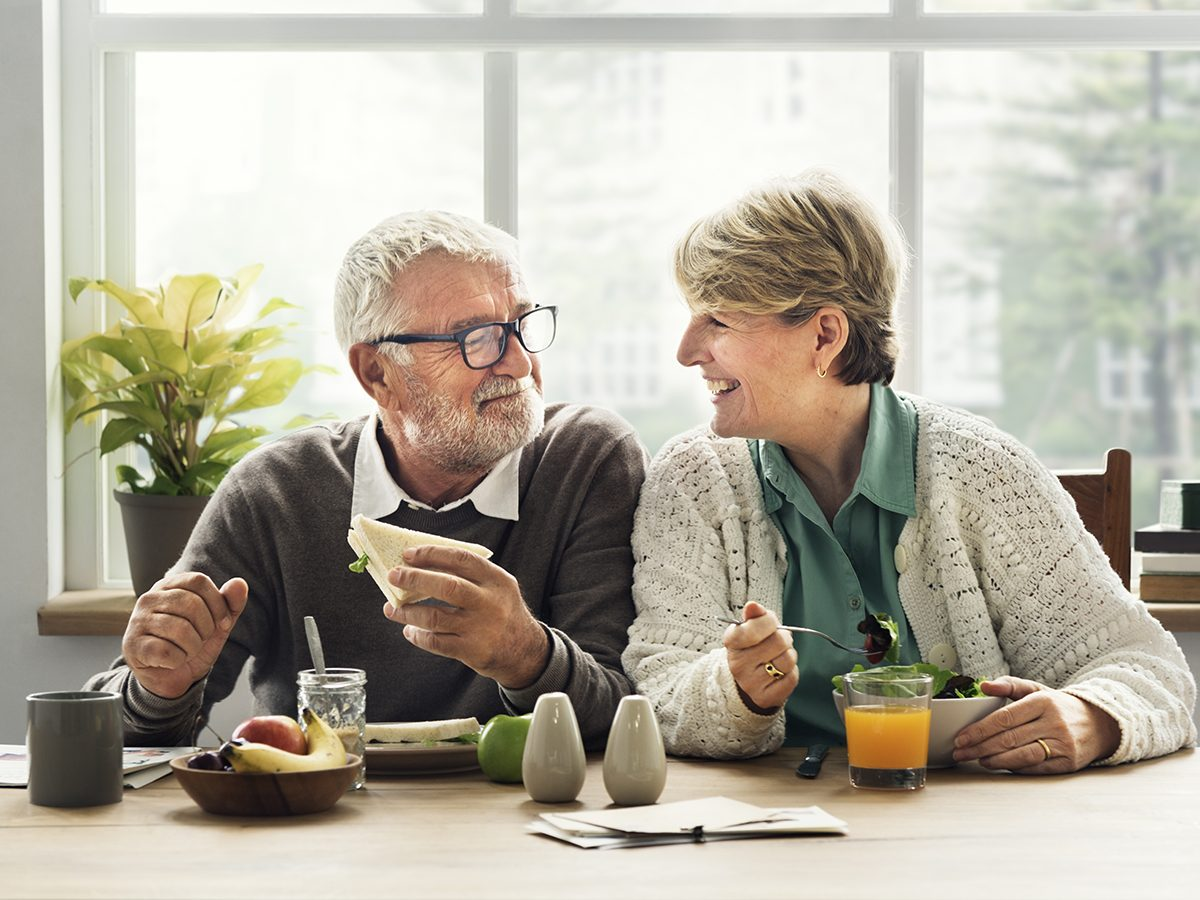 Things that can slow down aging - happy senior couple