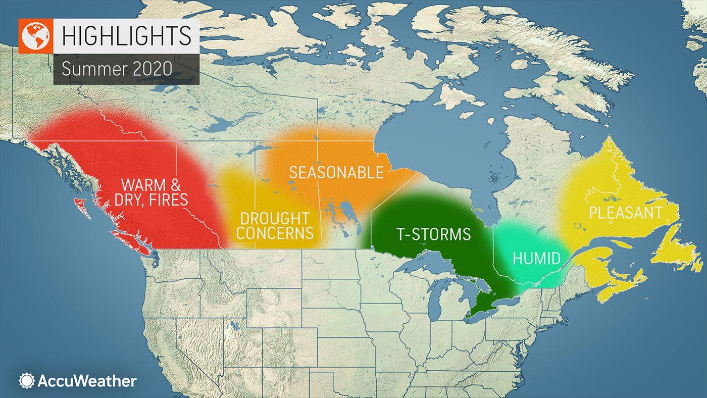 Summer forecast - canada 2020