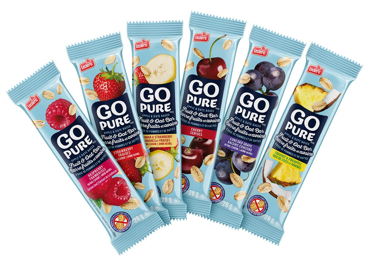 Test drive - Go Pure fruit and oat bars