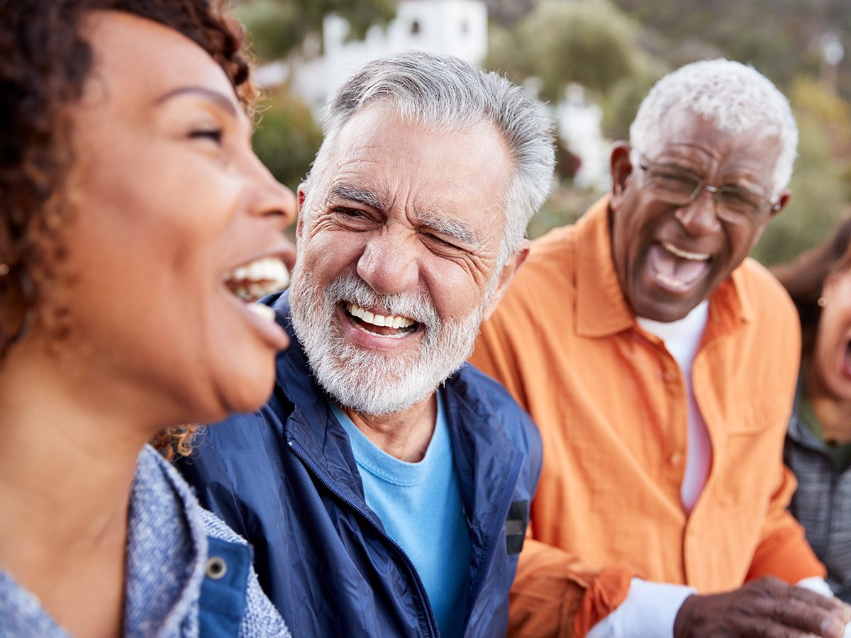 Things that slow down aging - happy seniors