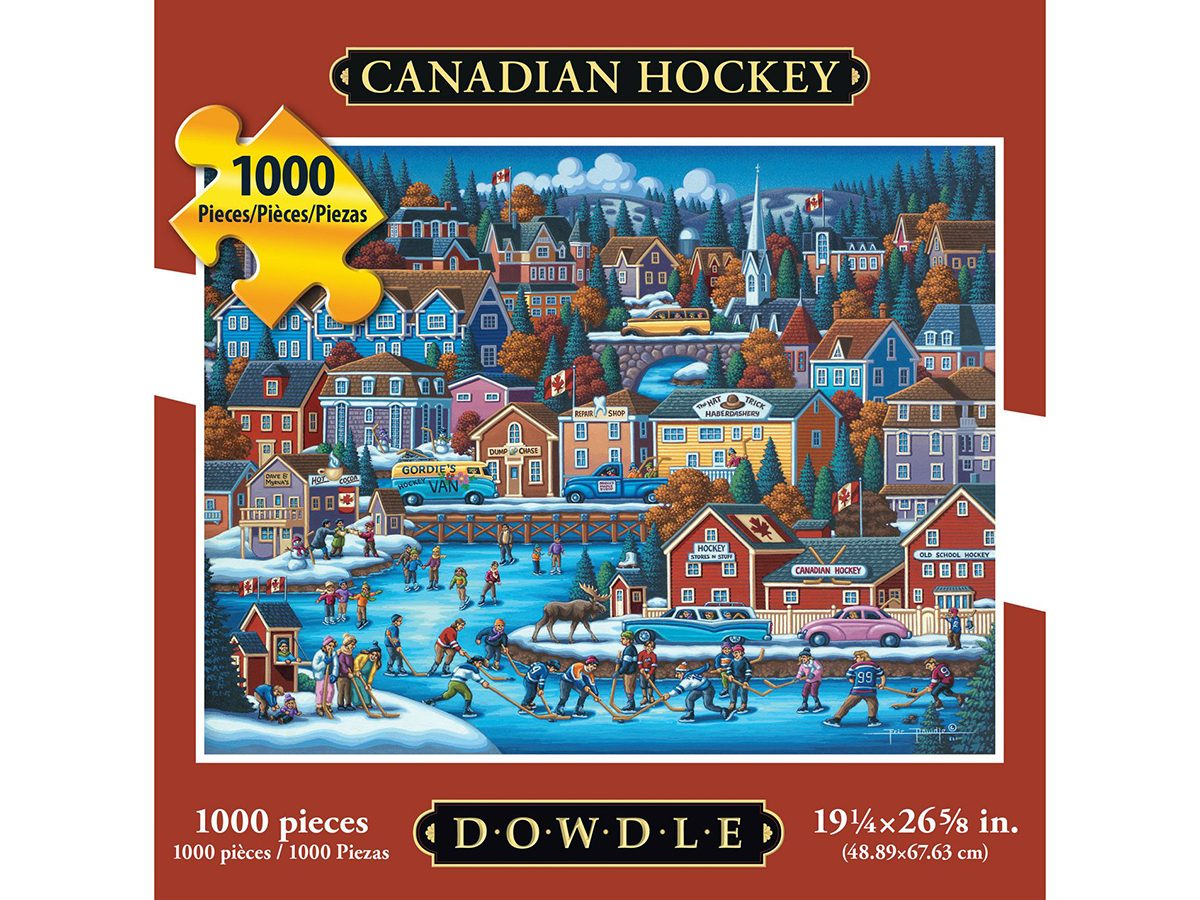 Walmart.ca popular Canadian Hockey puzzle