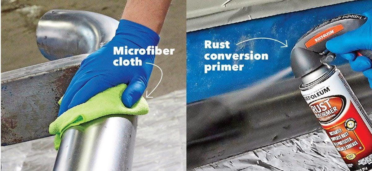prevent flash rust