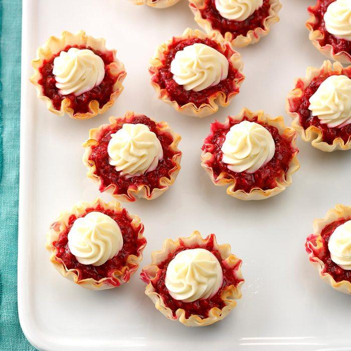 Easy Lemon Berry Tartlets