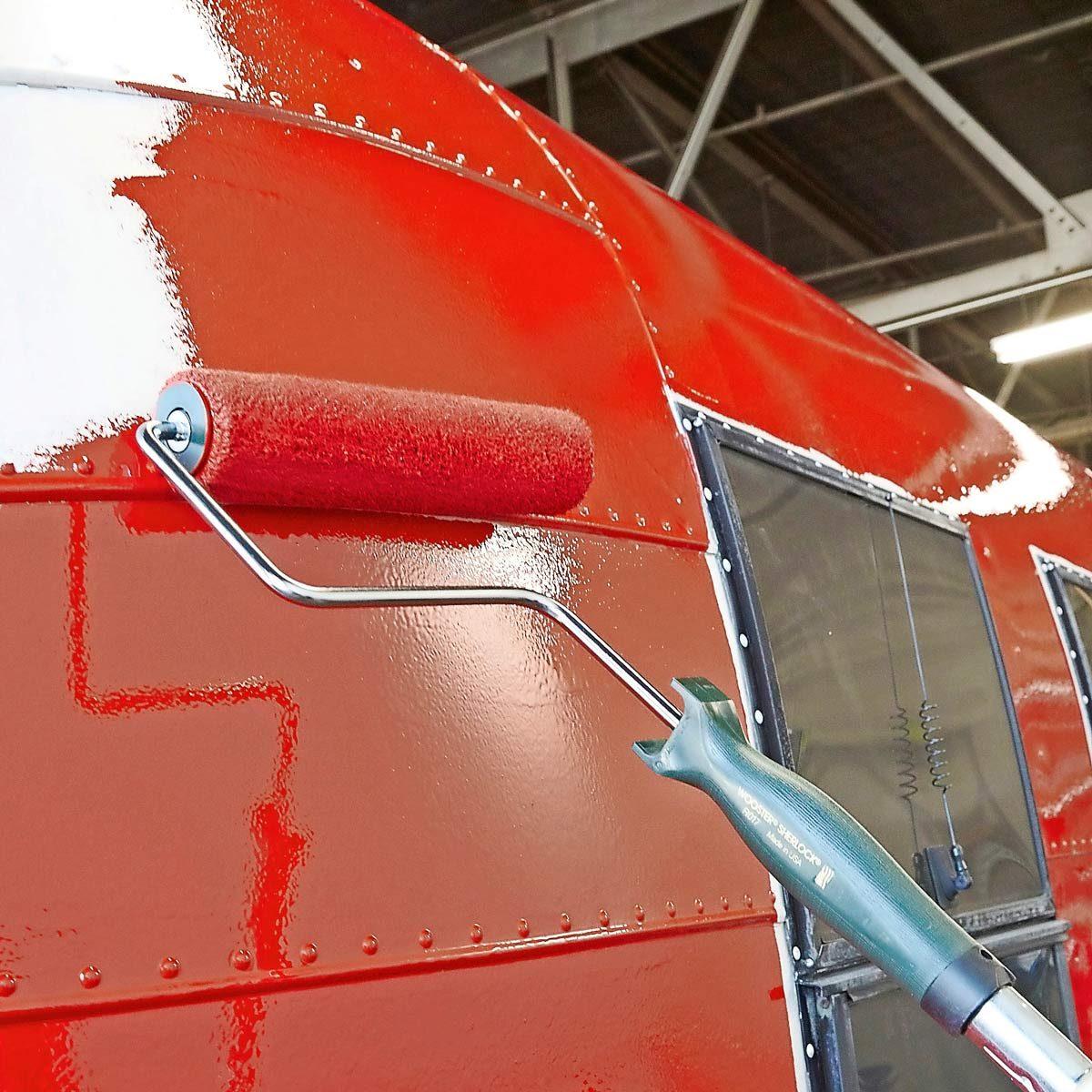 roller exterior camper paint