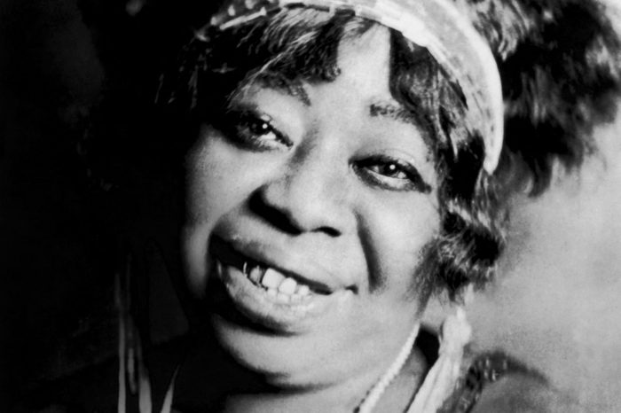 """CIRCA 1923: """"Mother of the Blues"""" Ma Rainey poses for a portrait circa 1923. (Photo by Donaldson Collection/Getty Images)"""