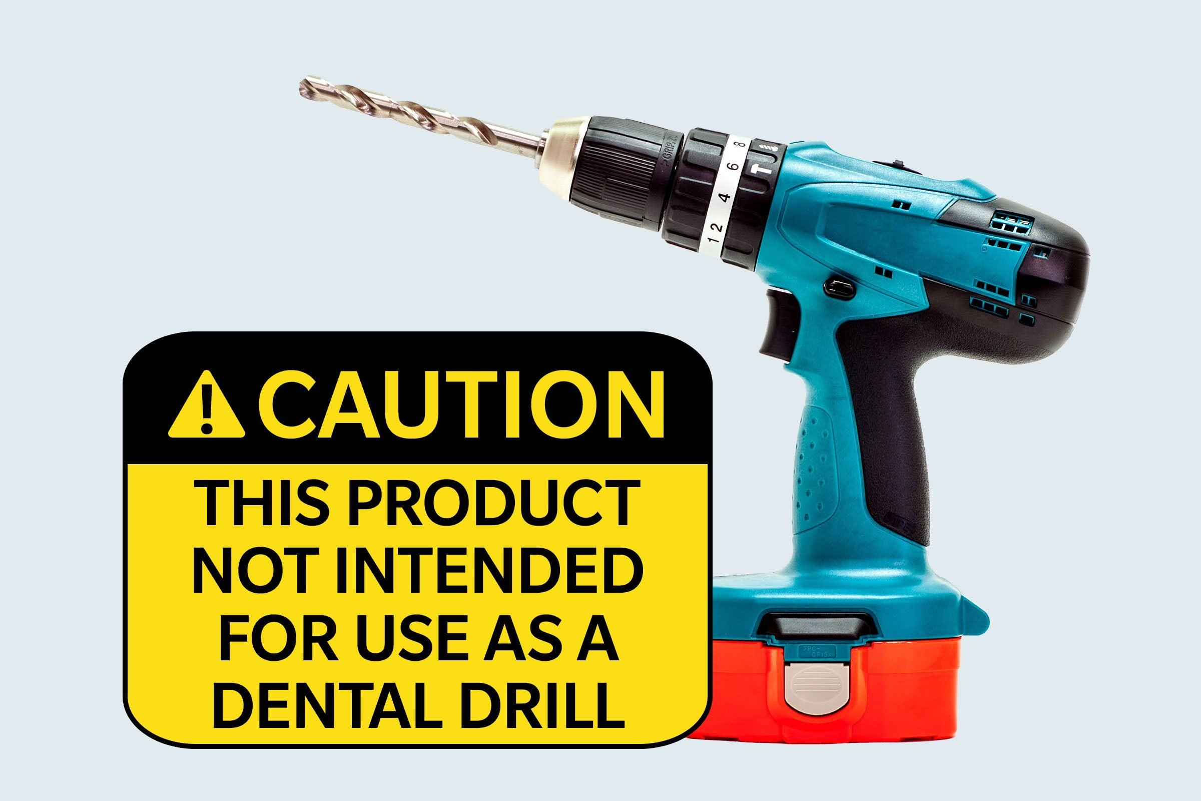 drill. caution: this product not intended for use as a dental drill