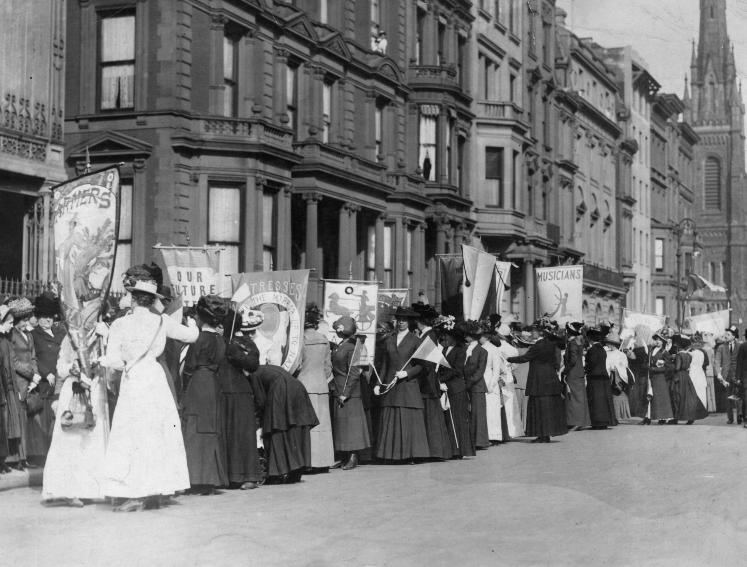 Working For Suffrage