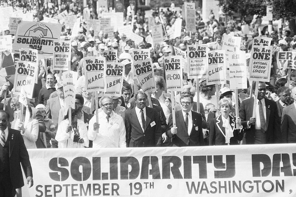 Solidarity Day March in Washington DC