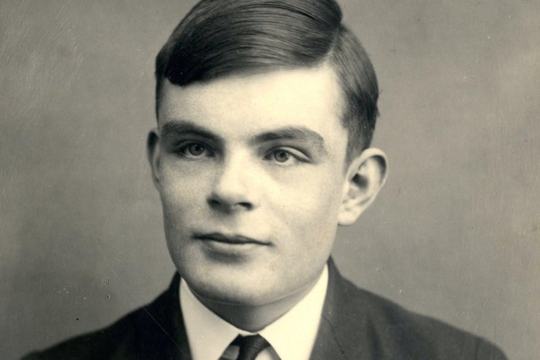 Alan Turing (1912-1954). Artist: Anonymous