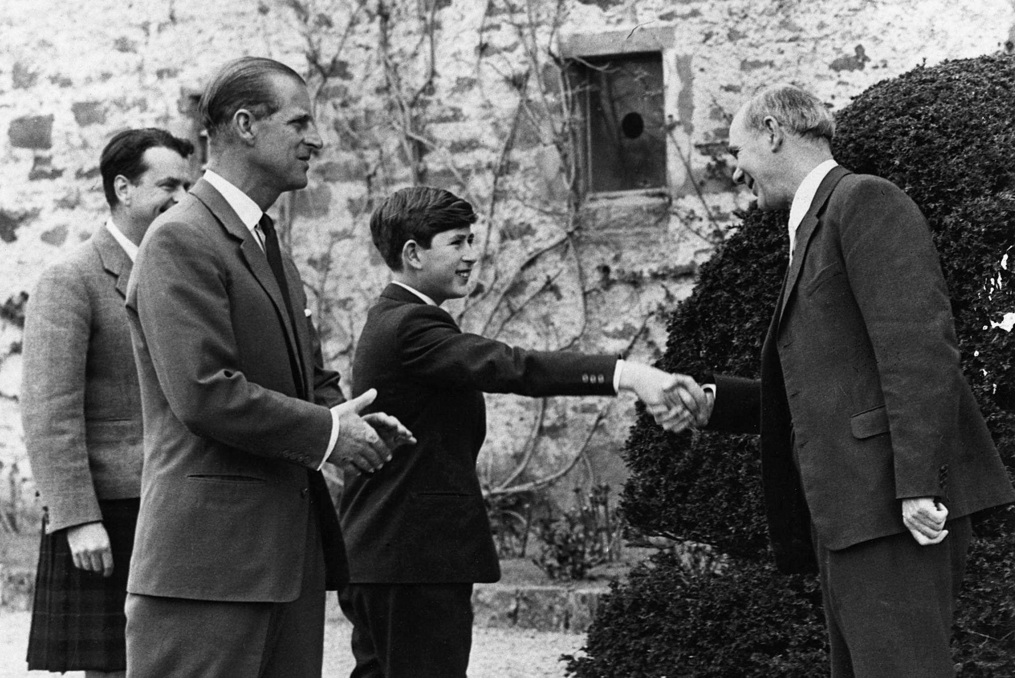 Prince Charles at Gordonstoun