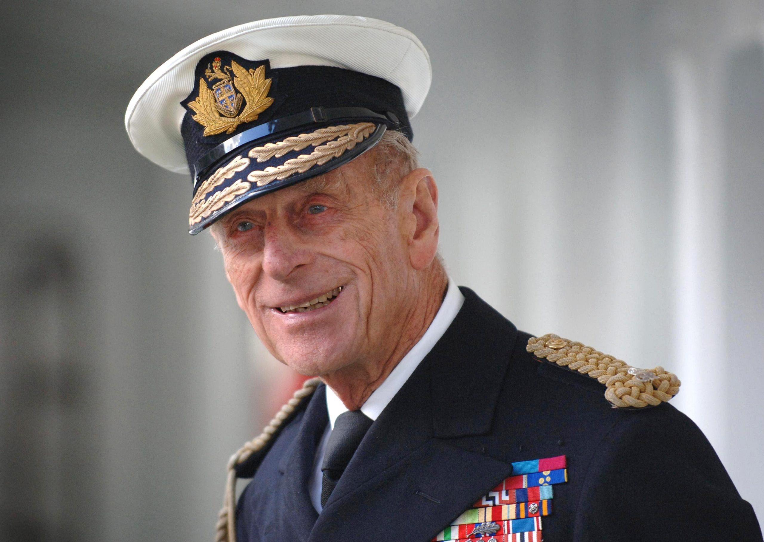 Prince Philip Visits Trinity House Vessel Galatea