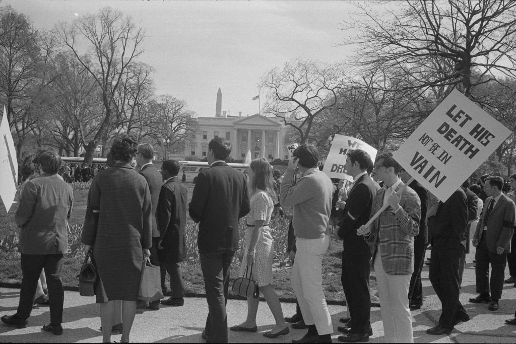 Demonstration The White House