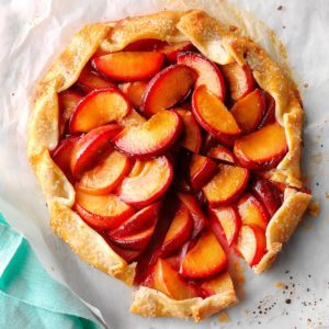 Ginger Plum Tart