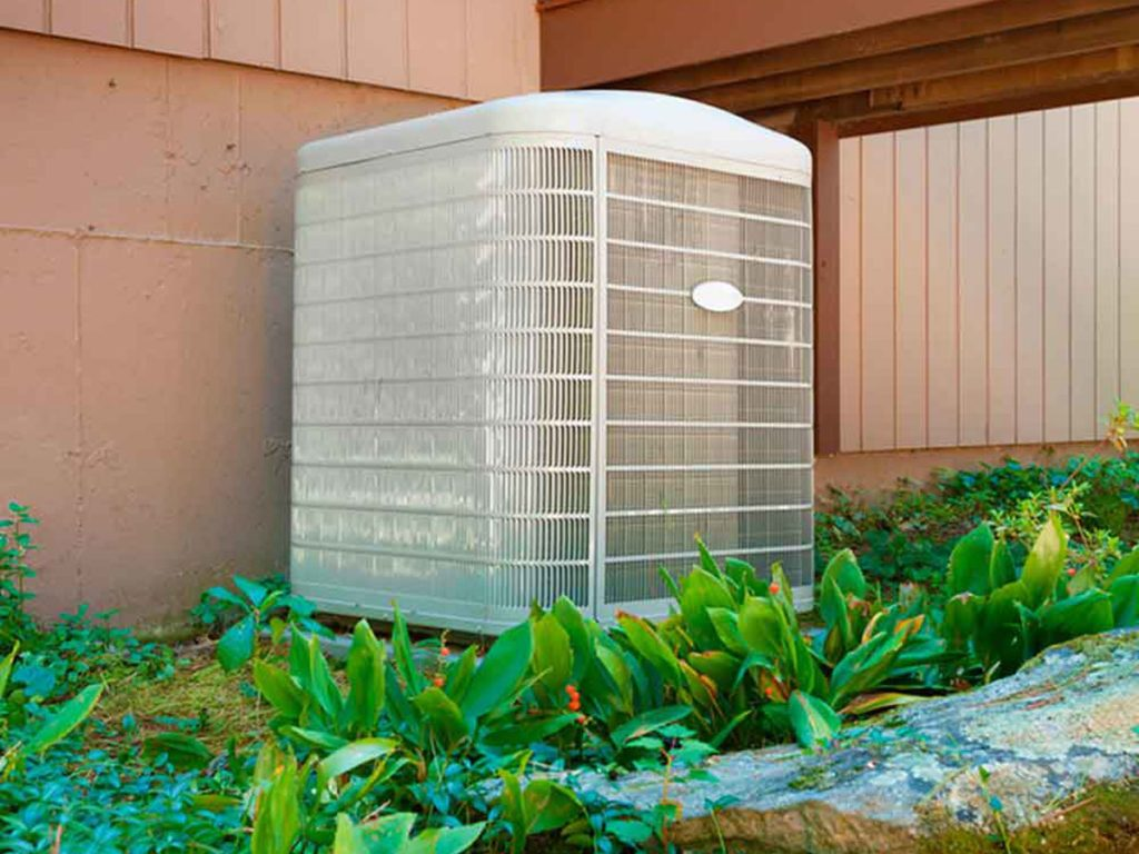 Outdoor air conditioning unit