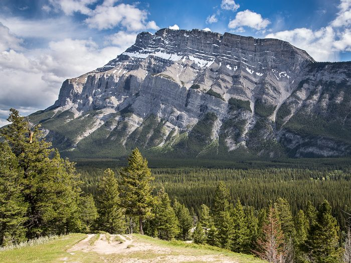 Canadian Rockies Facts - Tunnel Mountain in Banff