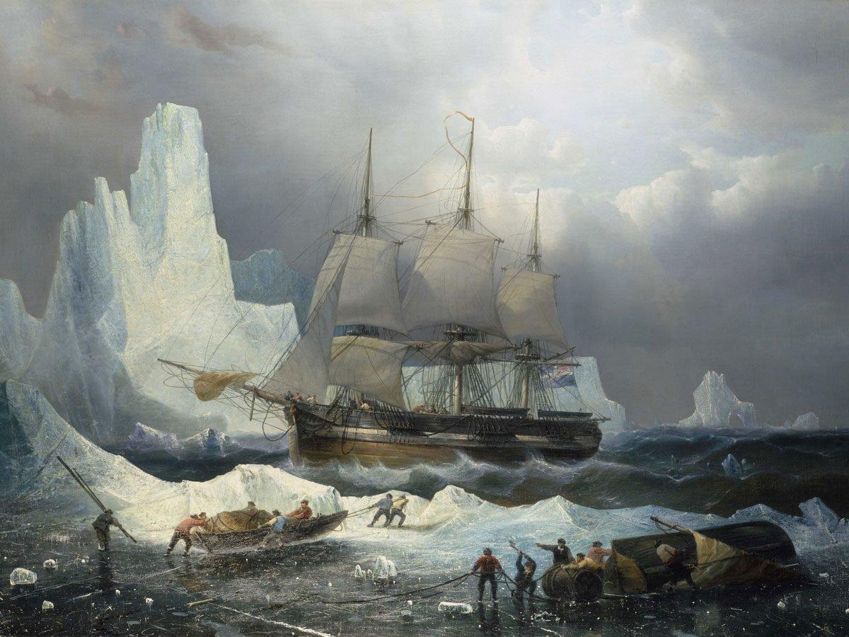 HMS Erebus and Terror