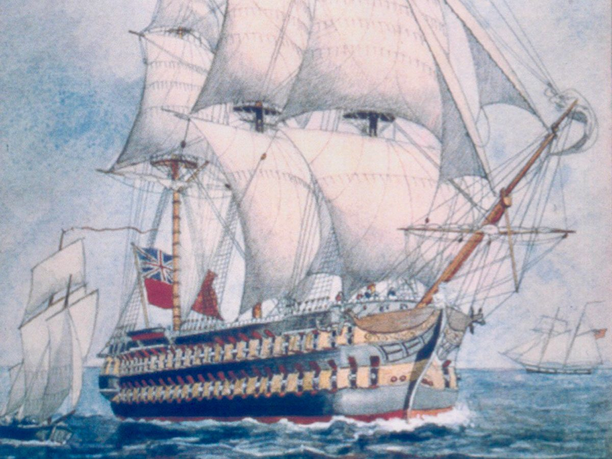 Shipwrecks - HMS St. Lawrence