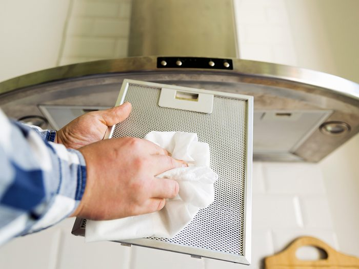 Cleaning Oven Exhaust Vent