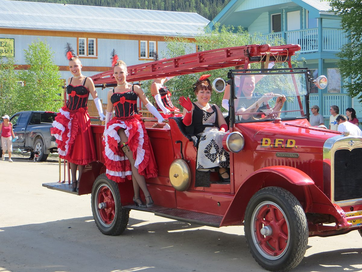 Dawson City Canada Day Parade