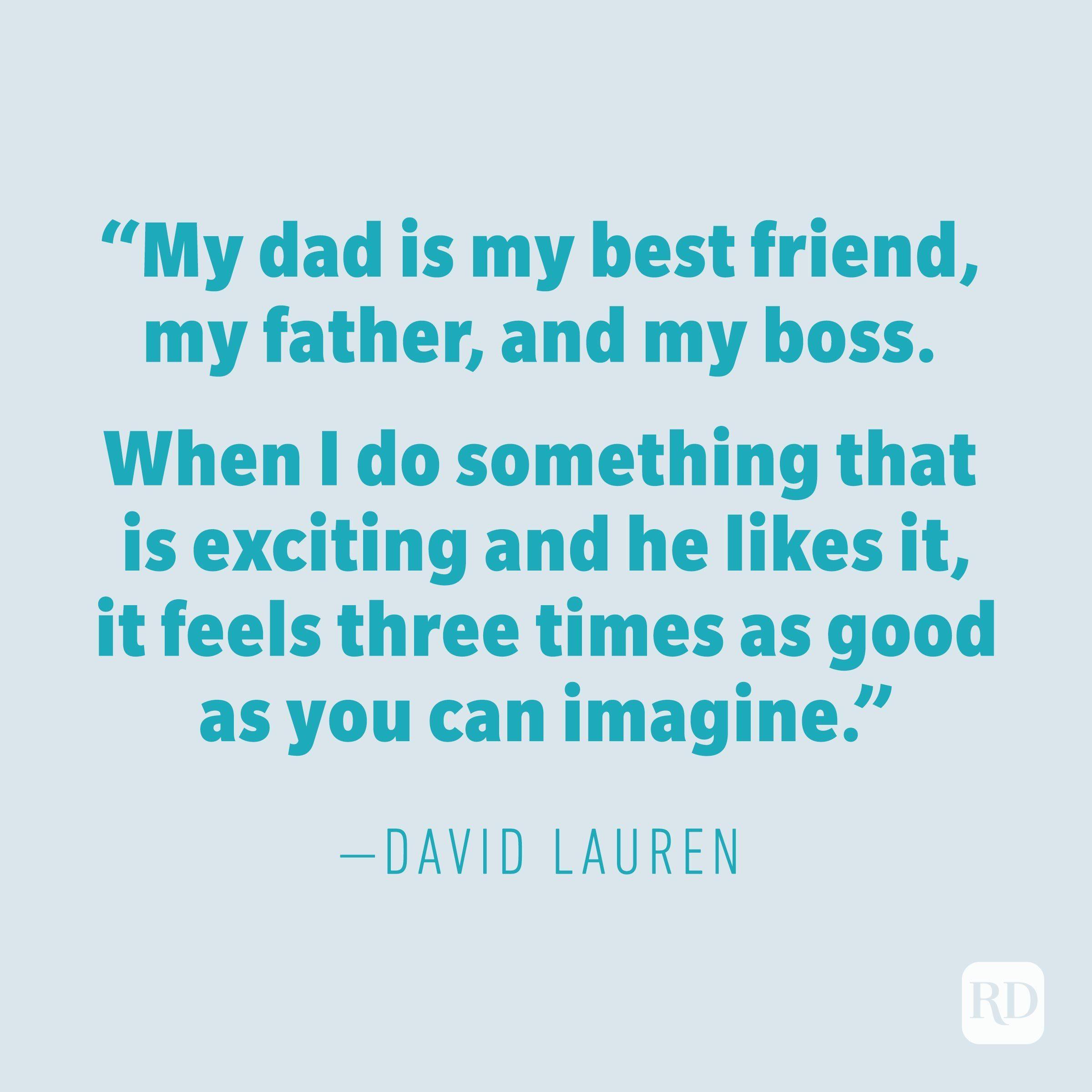 David Lauren quote