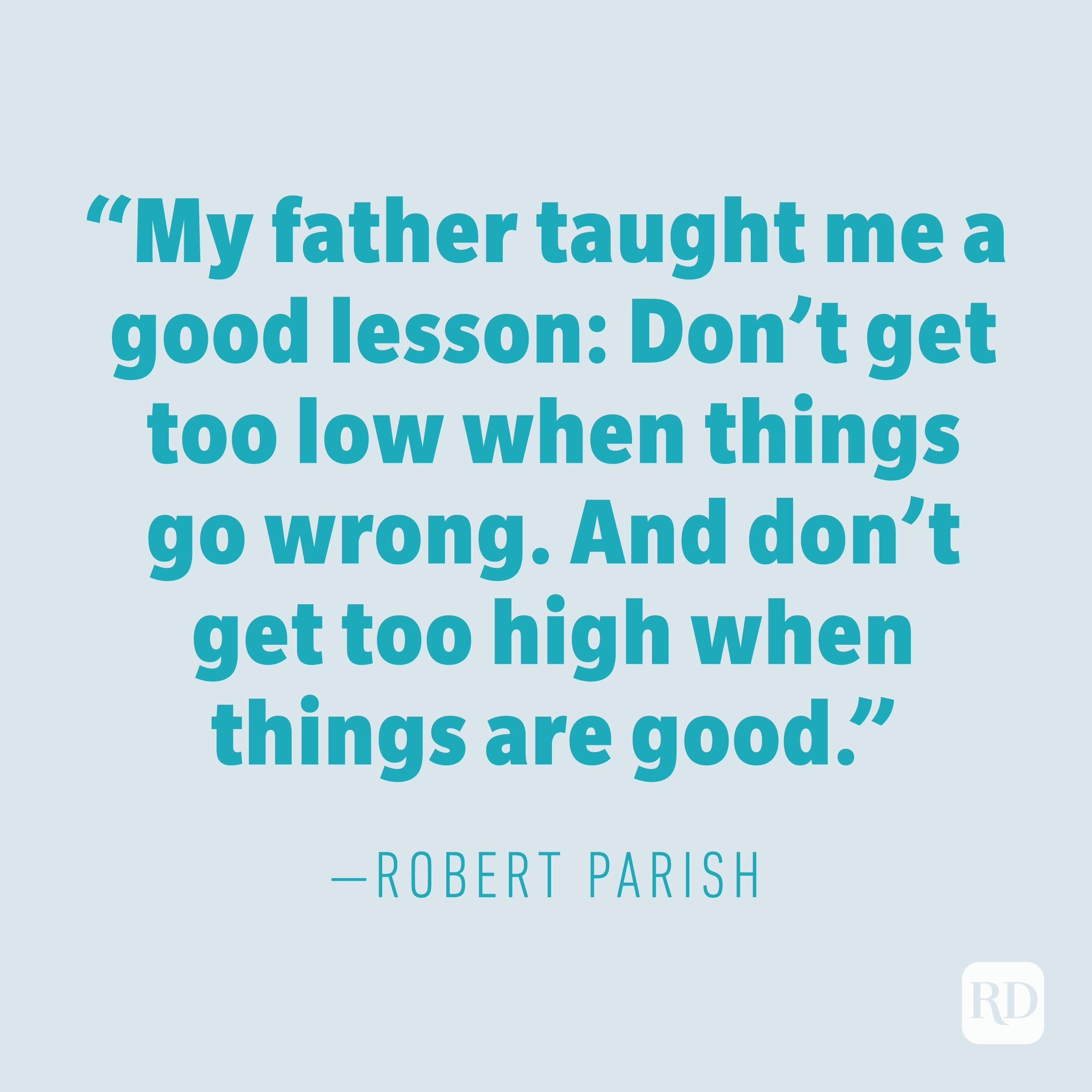 Robert Parish quote