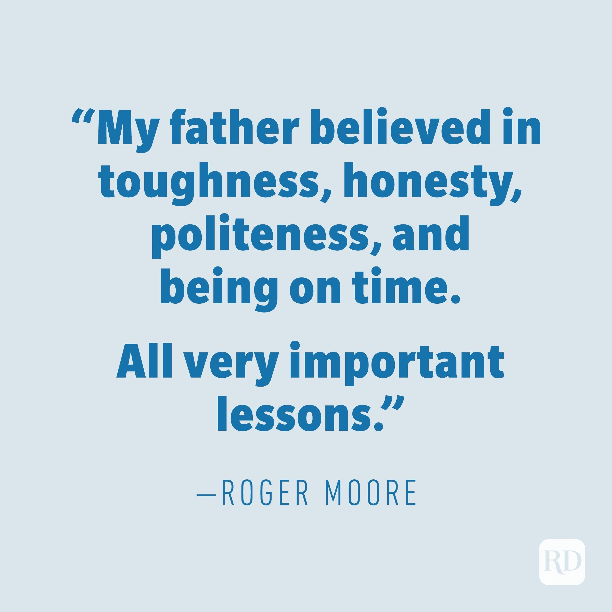 Roger Moore quote