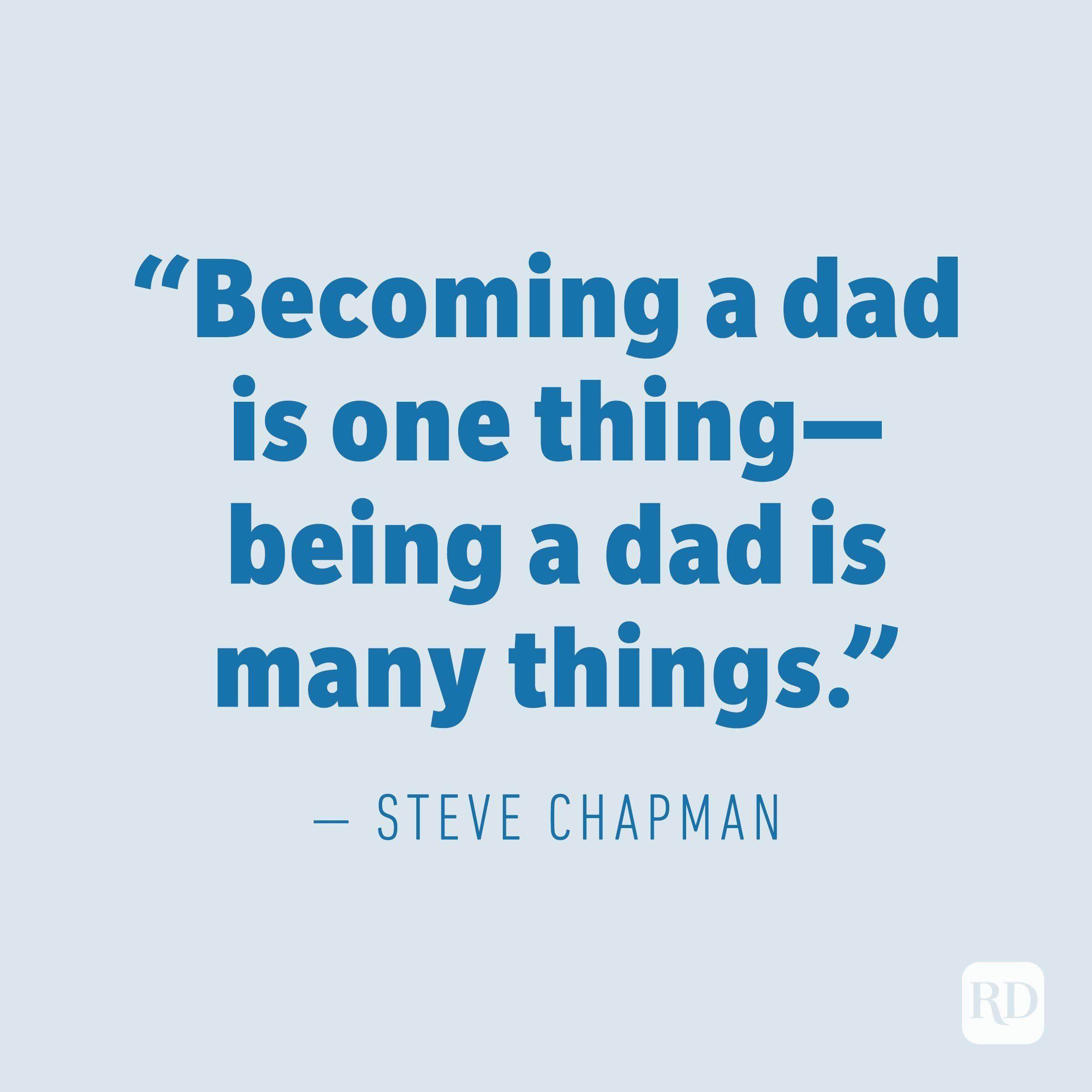 Steve Chapman quote