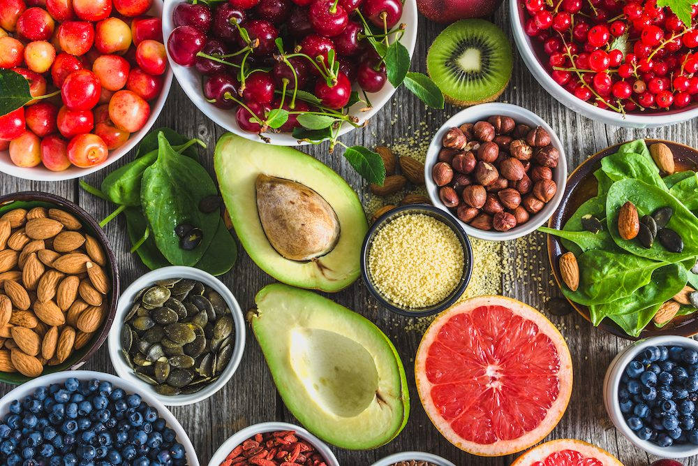 healthy eating tips - superfoods