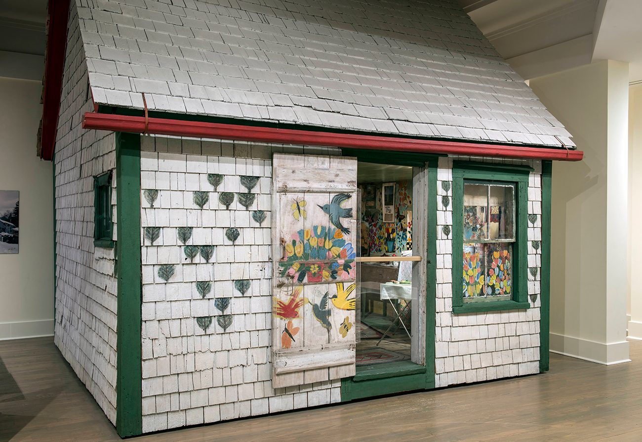 Most famous house in every province - Maud Lewis house