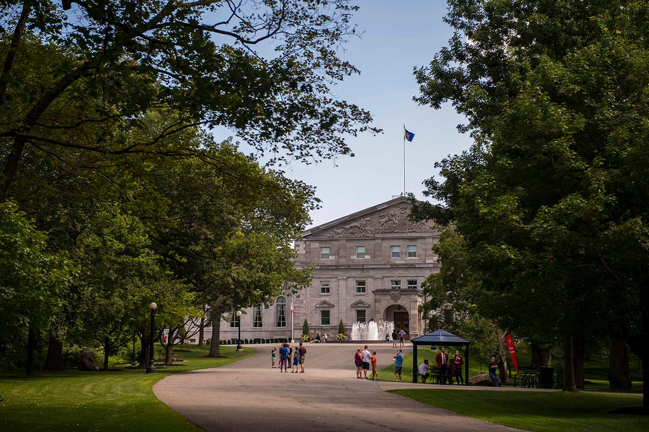 Most famous house in every province - Rideau Hall