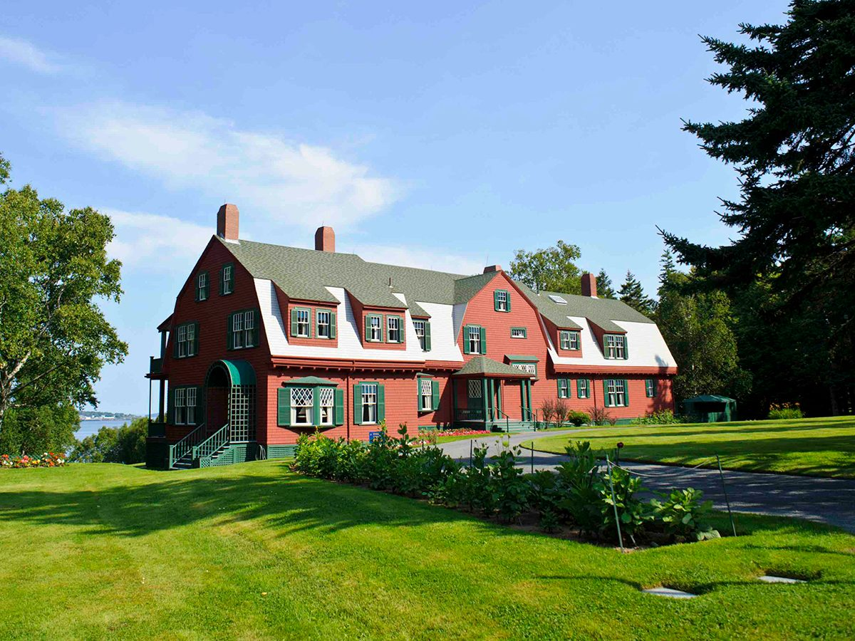 Most famous house in every province - Roosevelt Cottage