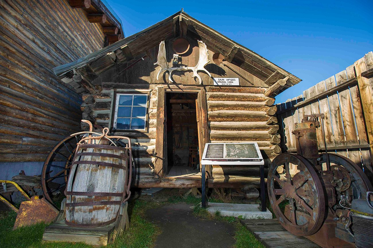 Most famous house in every province - Sam McGee's cabin