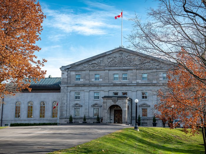 Most famous houses in Canada - Rideau Hall