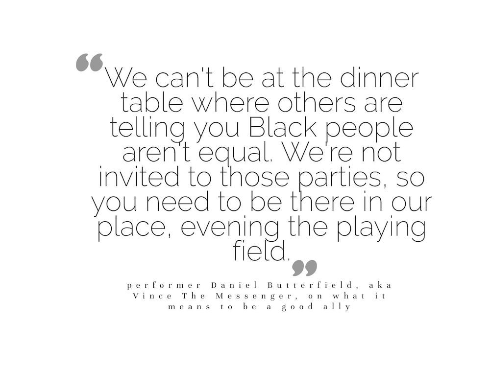 Black Lives Matter - Vince the Messenger