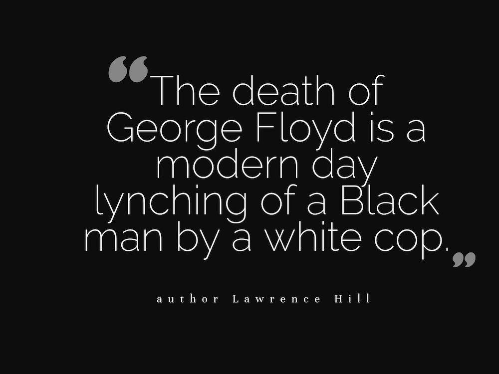 Black Lives Matter - Lawrence Hill
