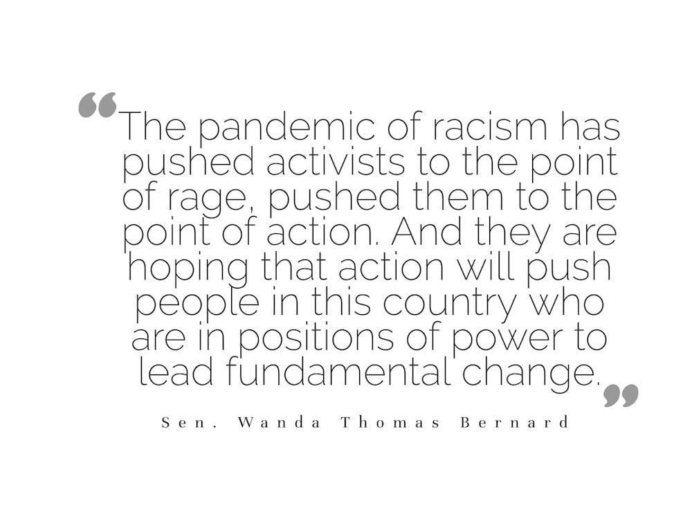Black Lives Matter - Wanda Thomas Bernard