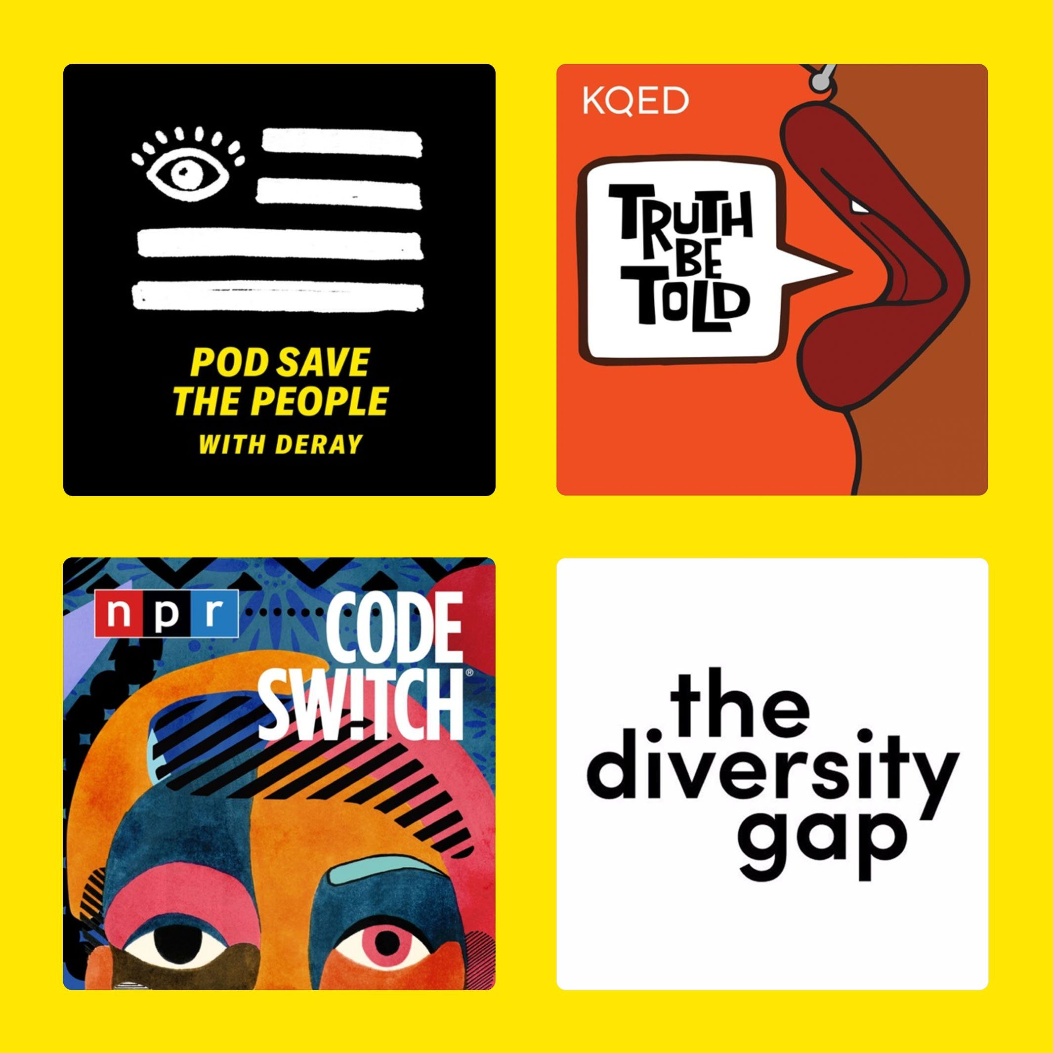 Best podcasts about race