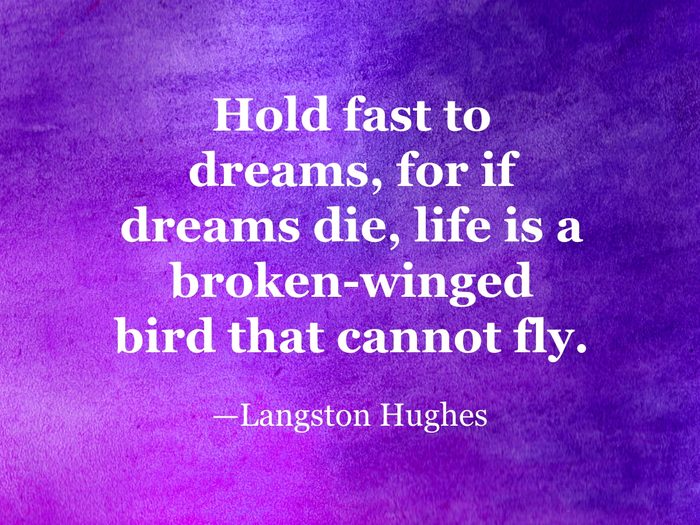 Langston Hughes quote
