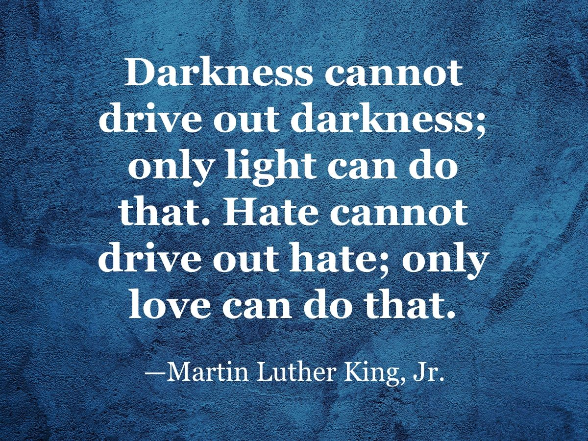 Martin Luther King, Jr. quote
